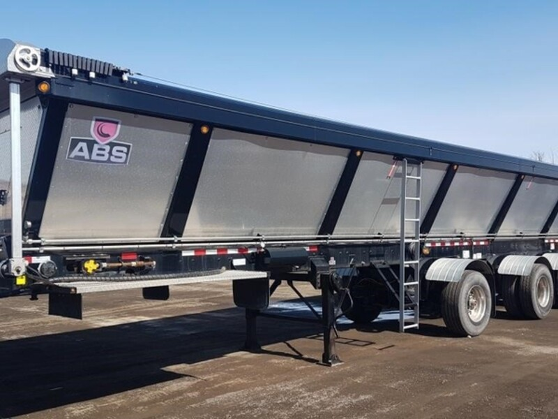 2018 ABS 48' 4-AXLE LIVE BOTTOM TRAILER photo